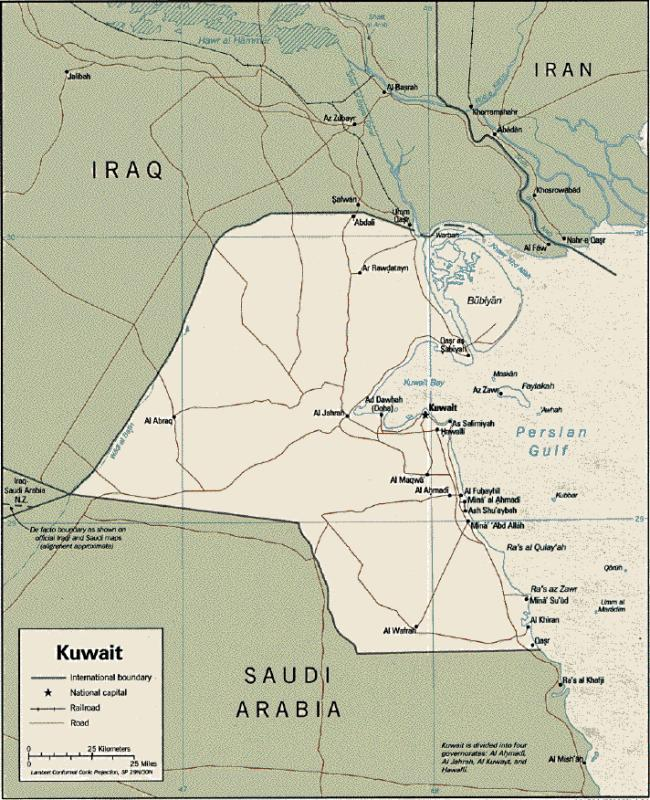 Scoop Images Kuwait And Iraq Satellite Images Scoop News