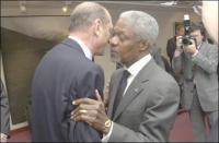 UN Sec-General Kofi Annan.