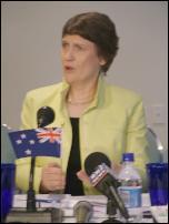 Scoop Image: Prime Minister Helen Clark.