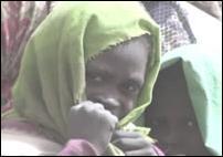 Amnesty International image: Darfur, child with headscarfe.