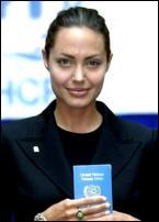 Angelina Jolie Also Has A UN Passport
