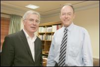 National candidate Tim Groser (left) with Don Brash.