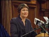 Scoop Image: Labour leader and PM Helen Clark