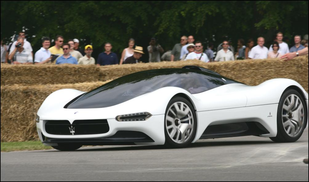 maserati birdcage 75th makes world driving debut | scoop news