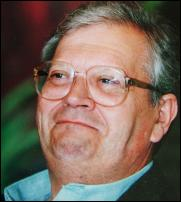 David Lange (1996) Image courtesy of Jason Dorday, copyright: Dorday, Manning, FNZ 1996.