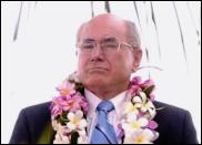Scoop Image by Jason Dorday. Australia's PM John Howard in PNG.
