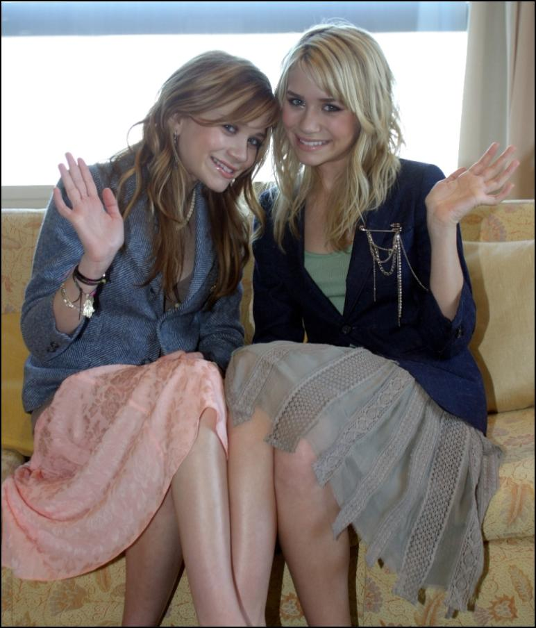 ... one of the Olsen twins (which I realized it wasn't Mary Kate or Ashley, ...