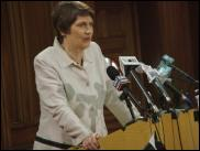 Scoop Image: Helen Clark announces details of her Centre-Right Government.