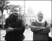 Scoop War Correspondent Jon Stephenson with Robert Fisk in Baghdad
