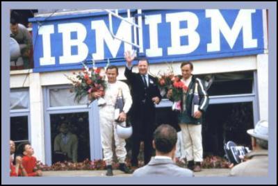 NZ in 1966 Le Mans 24 hour race: Podium