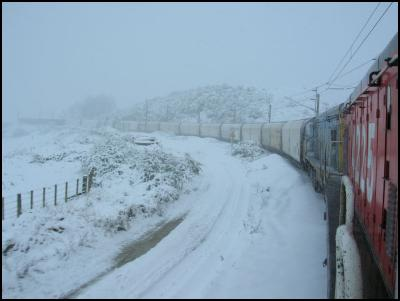 Rail Still Moving Through Central NI