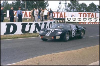NZ in 1966 Le Mans 24 hour race: Chris Amon