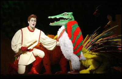 Tamino Adrian Strooper Charms An Array Of Colourful Animals And Opera Audiences