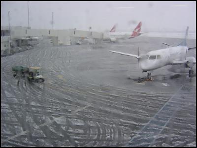 Christchurch Snow. Image: Craig Faulkner