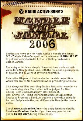 Handle the Jandal PR Image