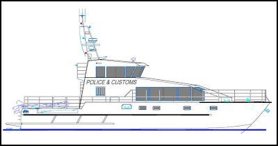 Sketch of Deodar II replacement vessel