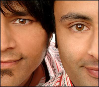 Those Indian Guys: Tarun (left), Raj (Right)