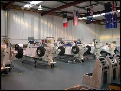 Sealegs production is running at full capacity