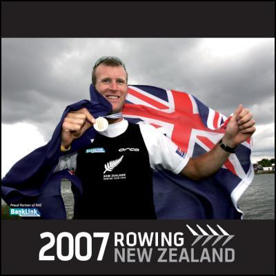 Rowing NZ 2007 Calendar Cover