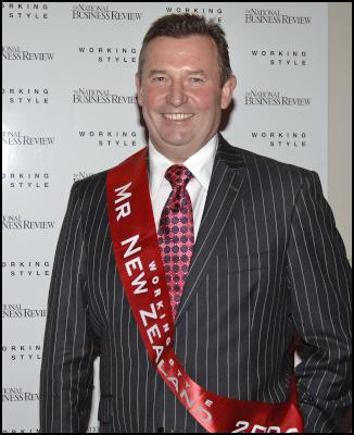 Don Braid , winner of the NBR Working Style Best Dressed Businessman Awards