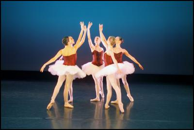 NZSD students in George Balanchine's Divertimento No. 15, Photography by: Stephen A'Court