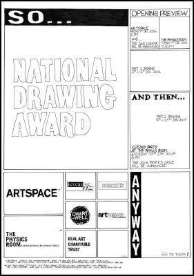National Drawing Award poster