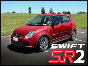 Special Edition version of the Suzuki Swift