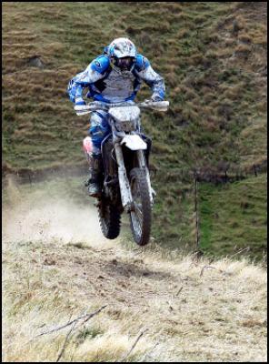 Yamaha rider Heath Howlett. Photo by Andy McGechan.