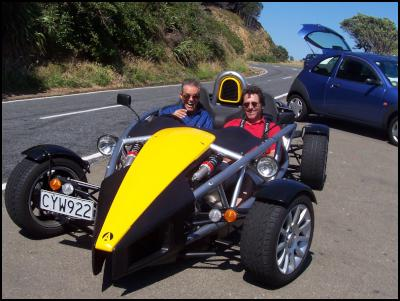 Ariel Atom Sports Car donated to Southward Car Museum by Ron Eckman