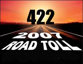 Four hundred and twenty two people died on New Zealand roads last year - 29 more than in 2006.