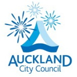 New logo of Auckland City Council, with Starbursts.