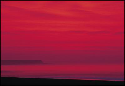 Fay Looney: Oakura Beach Sunset