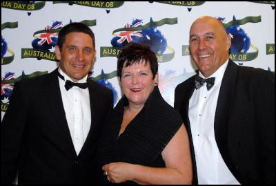 Steve Price, with ex Prime Minister of New Zealand, Jenny Shipley and her husband Burton Shipley.</