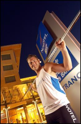 Hamilton javelin thrower Stuart Farquhar has now qualified for the Beijing Olympics