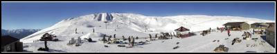 Panoramic view of Snow Park NZ. Credit: Tyler Meade