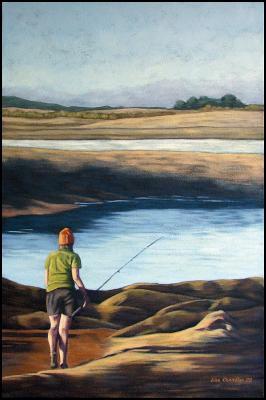 Lisa Chandler  - evening fishing