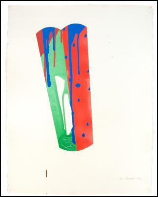 Witness, 1987 - Max Gimblett