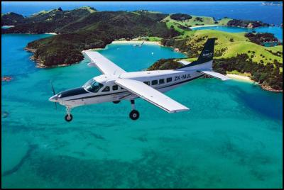 Salt Air over Bay of Islands