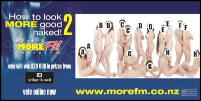 Look MORE Good Naked 2 Billboard – Released 8.00am Friday, September 5 2008