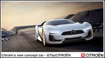 Citroën's new concept car: GTbyCITROËN