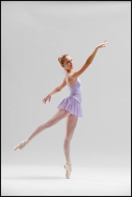 New Zealand School of Dance student Katherine Grange. Photo credit: Stephen A'Court