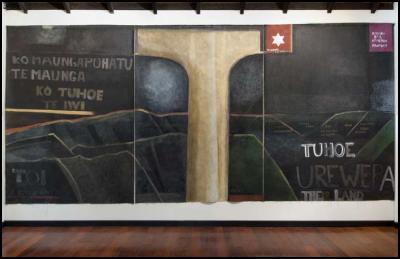 Colin McCahon, Urewera Triptych 1975