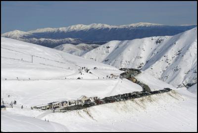 Mt Dobson skifield