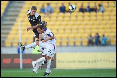 A-League 15th Round Phoenix vs Perth - photographs by Karim Sahai