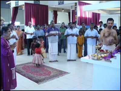 Wellington Tamils praying for peace