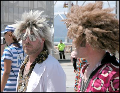 dudes with hair, wellington sevens costumes