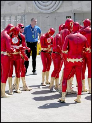 the flashes, wellington sevens costumes