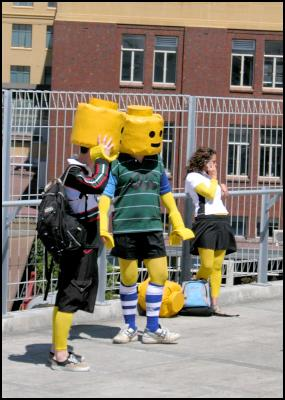 lego people, wellington sevens costumes