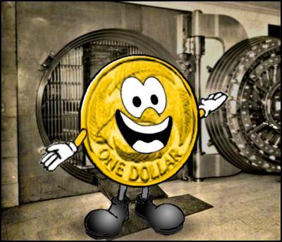 finance mascot