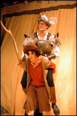 The History Of Cardenio - By William Shakespeare and John and Gary Taylor - Christopher De Sousa Smith as Senor Quesada (Don Quixot) and Kelly Irvine as Sancho